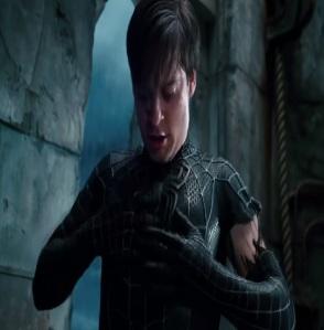 Spider-man 3 black suit Spider-Man