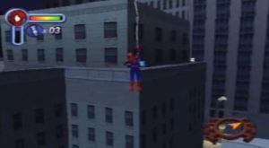 Web slinging Spider-Man 2: Enter Electro PS1