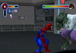 Spider-man vs lizard Spider-Man 2: Enter Electro PS1