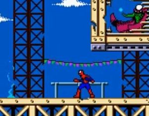 Mysterio boss fight Spider-Man 2: The Sinister Six game boy color GBC