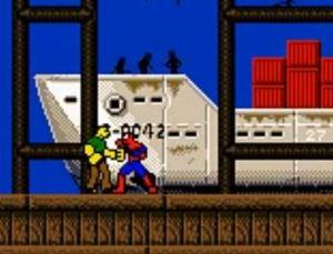 Sandman boss battle Spider-Man 2: The Sinister Six game boy color GBC