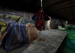 Sewer level Spider-Man 2002 Nintendo Gamecube Xbox PS2