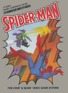 Spider-Man Atari 2600 boxart
