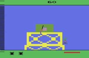 Green Goblin boss fight Spider-Man Atari 2600