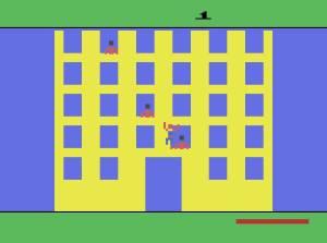 Climbing building Spider-Man Atari 2600