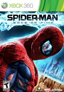 Spider-Man: Edge of Time Xbox 360 boxart