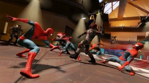 Peter Parker level Spider-Man: Edge of Time Xbox 360 Ps3