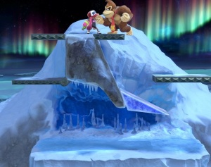 Summit Stage super Smash Bros ultimate Nintendo Switch ice climber