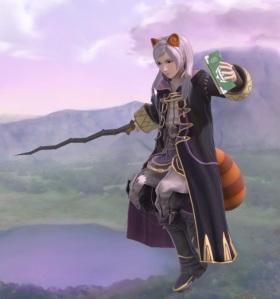 Robin using Super Leaf super Smash Bros ultimate Nintendo Switch
