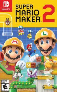 Super Mario Maker 2 Nintendo Switch boxart