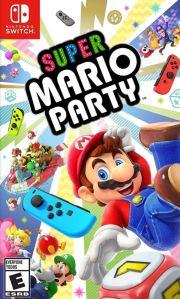 Super Mario Party Nintendo Switch boxart