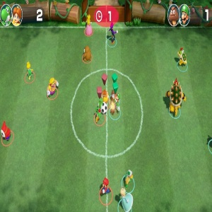 Soccer match football Super Mario Party Nintendo Switch