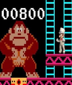 Tuxedo Mario 75m Donkey Kong stage super Smash Bros ultimate Nintendo Switch