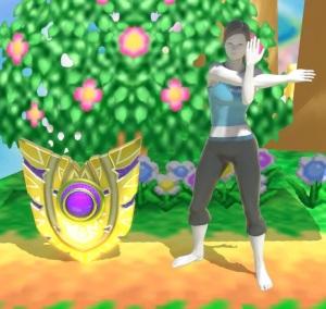 Back Shield super Smash Bros ultimate Nintendo Switch