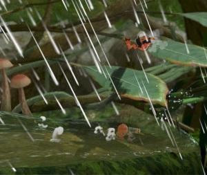Heavy rain Distant Planet Stage Super Smash Bros ultimate Nintendo Switch Pikmin