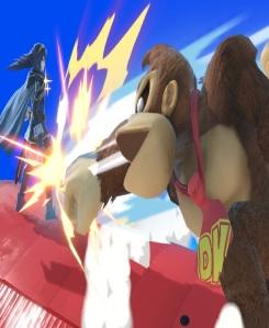 Donkey Kong vs Lucina Franklin Badge super Smash Bros ultimate Nintendo Switch earthbound