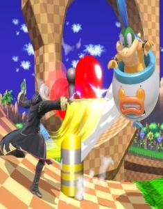 Robin vs Iggy Koopa Green Hill Zone Stage super Smash Bros ultimate Nintendo Switch sonic the Hedgehog series