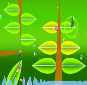 Hanenbow stage super Smash Bros ultimate Nintendo Switch Electroplankton