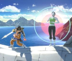 Wii Fit trainer vs hero super Smash Bros ultimate Nintendo Switch