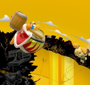 King dedede floating super Smash Bros ultimate Nintendo Switch