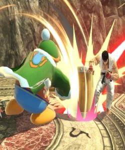 King Dedede Hits ryu with hammer super Smash Bros ultimate Nintendo Switch