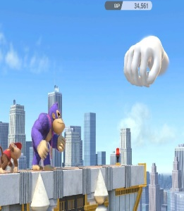 Master Hand super Smash Bros ultimate Nintendo Switch