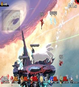 World of Light Master Hand super Smash Bros ultimate Nintendo Switch
