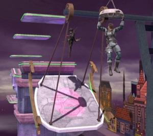 Joker vs snake New Pork City Stage super Smash Bros ultimate Nintendo Switch mother 3