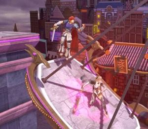 Roy vs corrin New Pork City Stage super Smash Bros ultimate Nintendo Switch mother 3