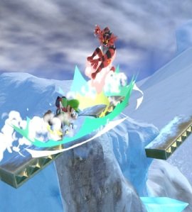 Luigi vs Incineroar Summit Stage super Smash Bros ultimate Nintendo Switch ice climber