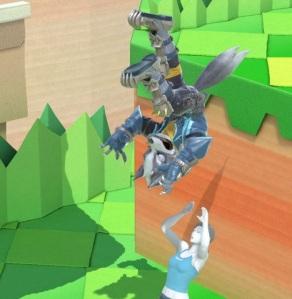 Wolf vs Wii Fit trainer super Smash Bros ultimate Nintendo Switch Starfox