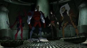 Deadpool lady deathstrike sabretooth Hulk Vs Wolverine