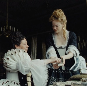 Abigail hill and queen Anne The Favourite 2018