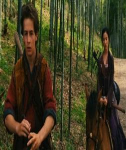 Jason and lu Yan the Forbidden Kingdom 2008