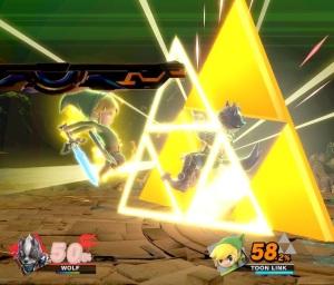 Toon Link final Smash super Smash Bros ultimate Nintendo Switch