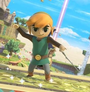 Toon Link super Smash Bros ultimate Nintendo Switch