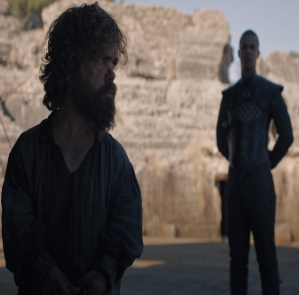 Tyrion Lannister avoids execution by greyworm game of Thrones