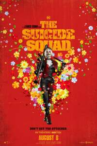 The Suicide Squad 2021 James gunn movie poster