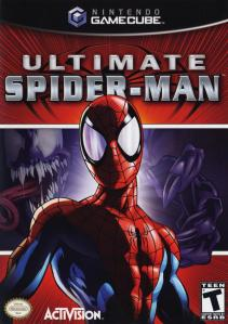 Ultimate Spider-Man Nintendo Gamecube boxart