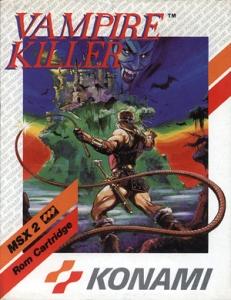 Vampire Killer MSX2 boxaboxart
