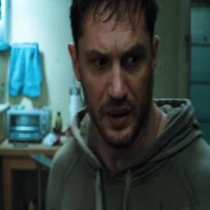 Tom Hardy as Eddie Brock Venom 2018 movie