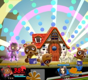 Villager final Smash super Smash Bros ultimate Nintendo Switch animal crossing