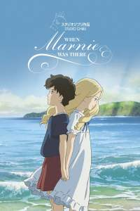When Marnie Was There movie poster studio Ghibli