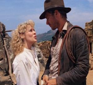 Indiana Jones and Willie Scott in India Indiana Jones and the temple of doom