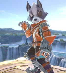 Wolf super Smash Bros ultimate Nintendo Switch Starfox