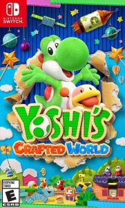 Yoshi's Crafted World Nintendo Switch boxart