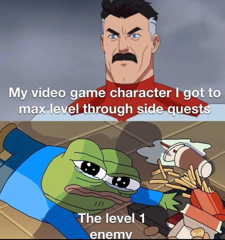 Memes easy video game opponents