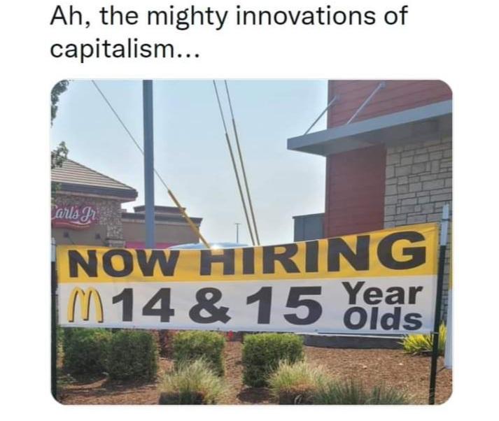 Memes fast food capitalism
