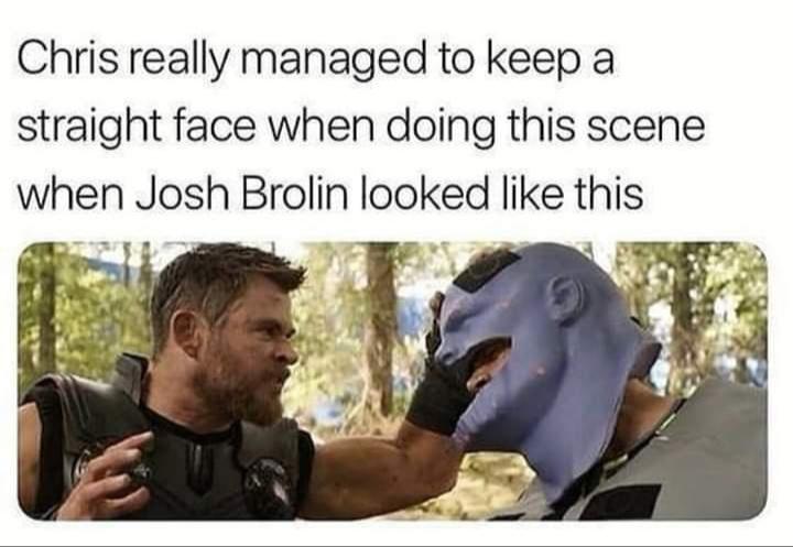Memes Josh Brolin thanos