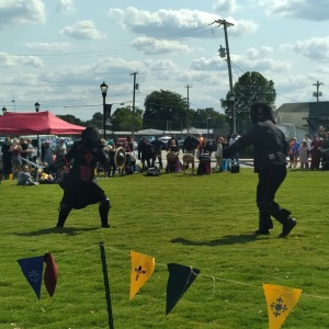 European martial arts sword fighting Upstate Renaissance Faire Greer South Carolina